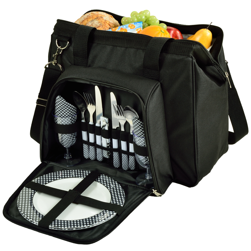 City Picnic Cooler Equipped for Two