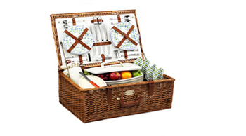 Dorset Picnic Basket for Four
