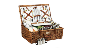 Dorset Basket for 4 w/coffee service
