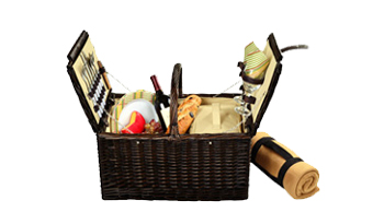Surrey Picnic Basket for Two with Blanket