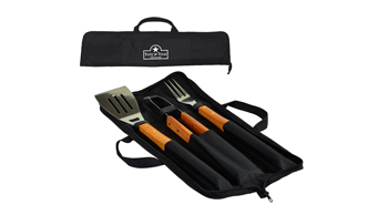 Wood - 3 pc Barbecue Set