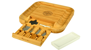 Plymouth Cheese Board Set